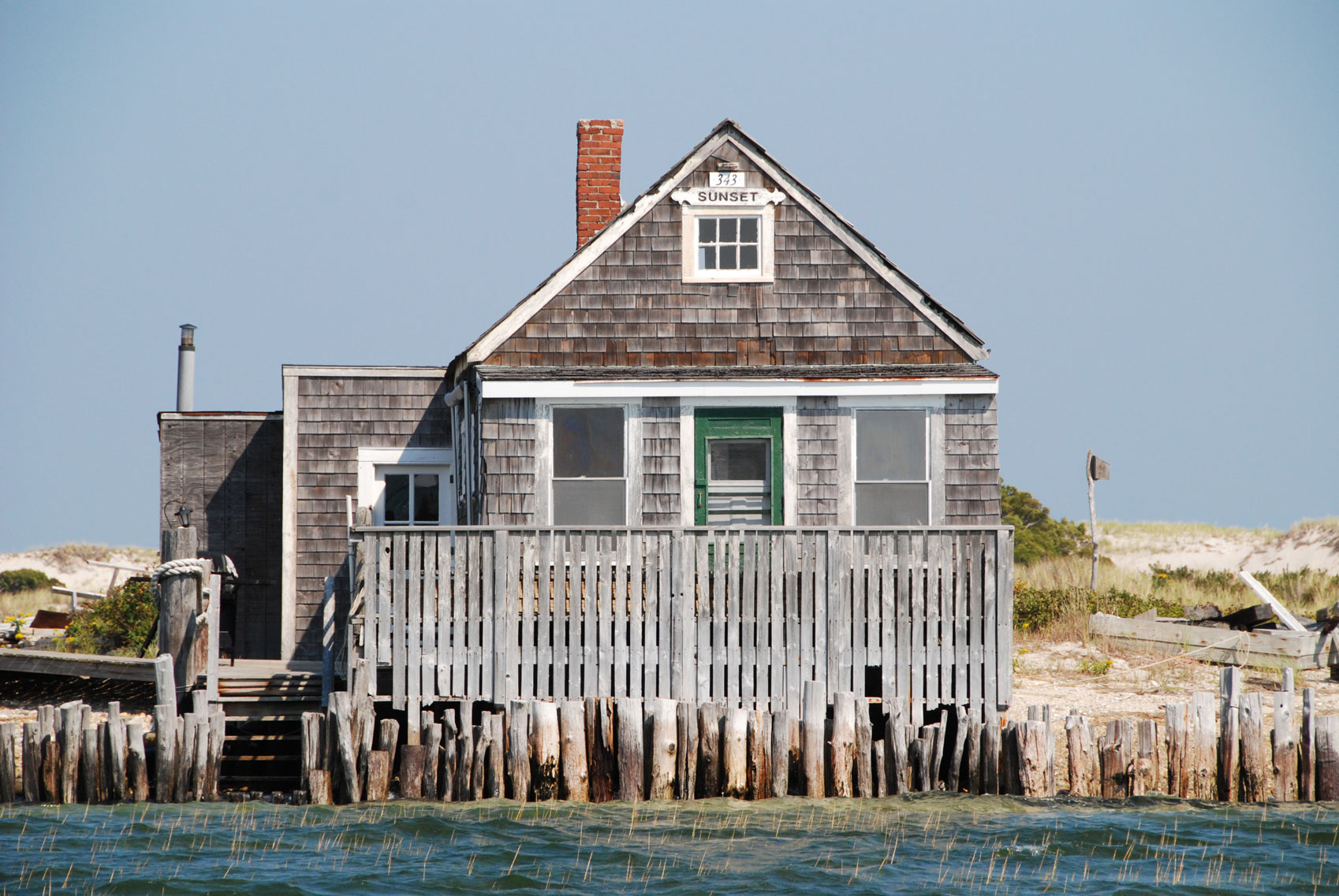 Sandy Neck Fishing Village
