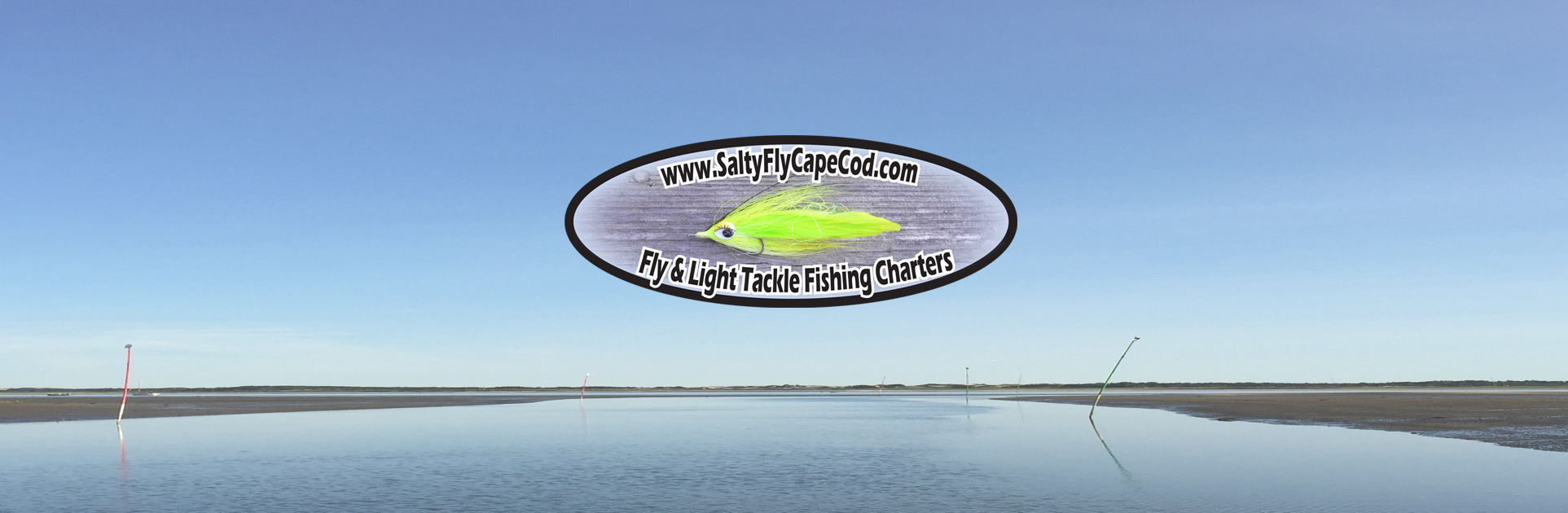 Salty Fly Cape Cod Fishing Charters Logo