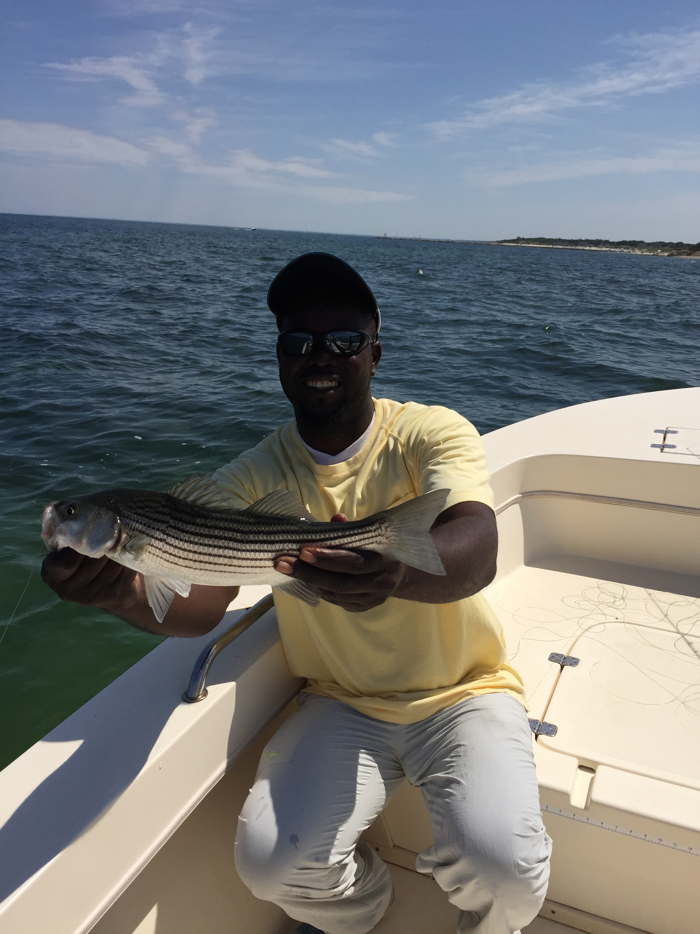 Meeko's First Striper