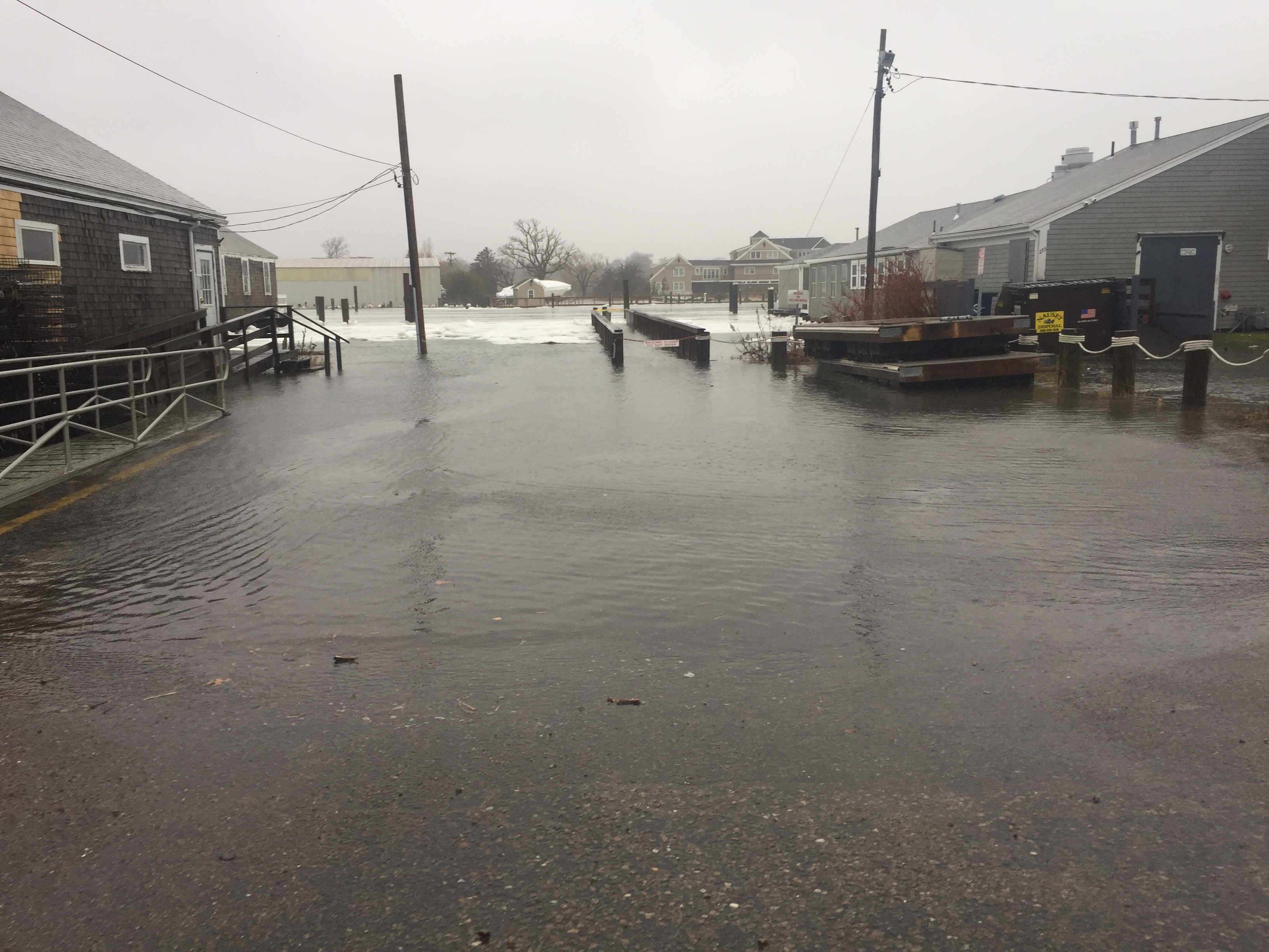 Barnstable Harbor High Tide