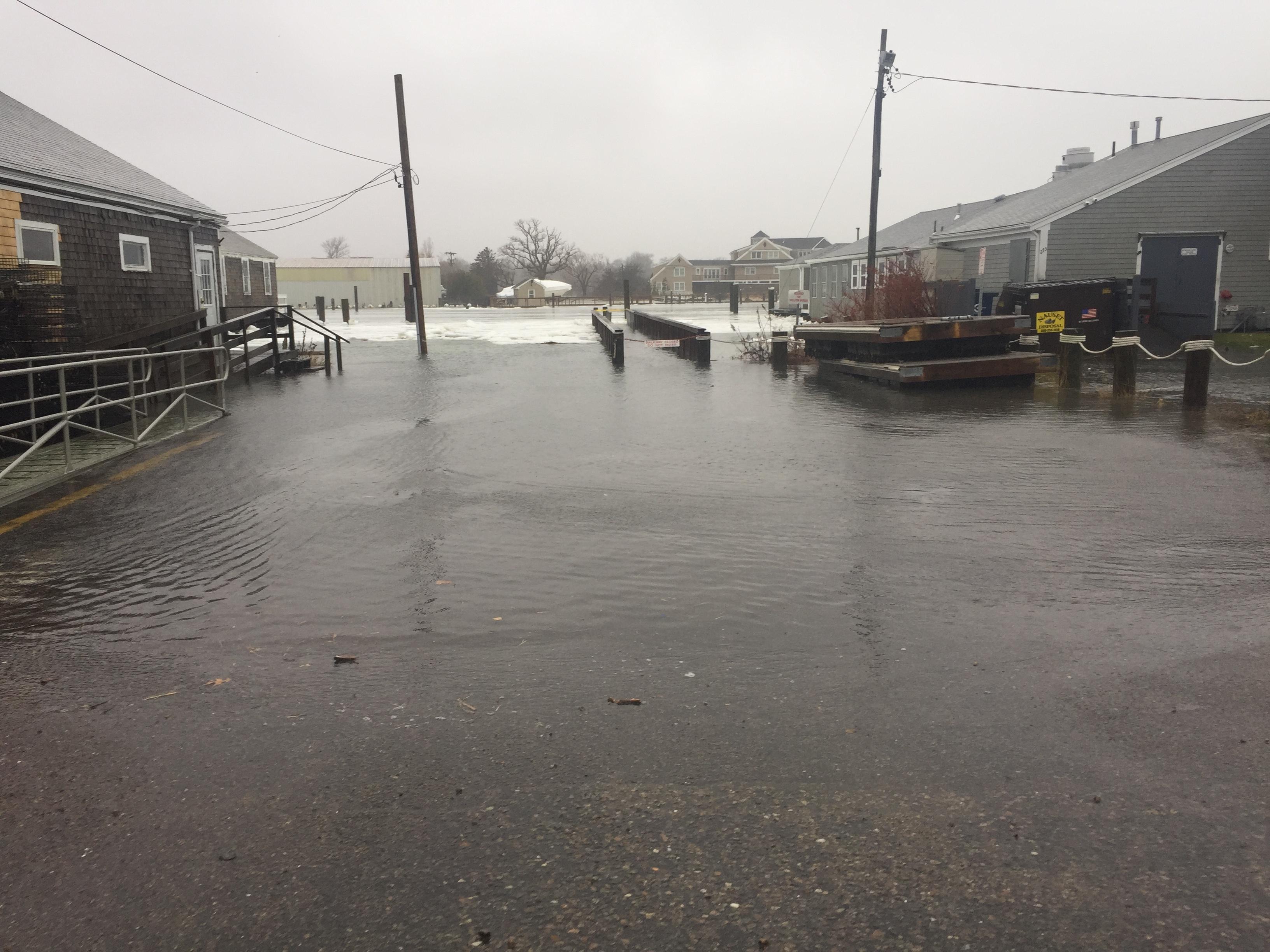 Barnstable Harbor High Tide
