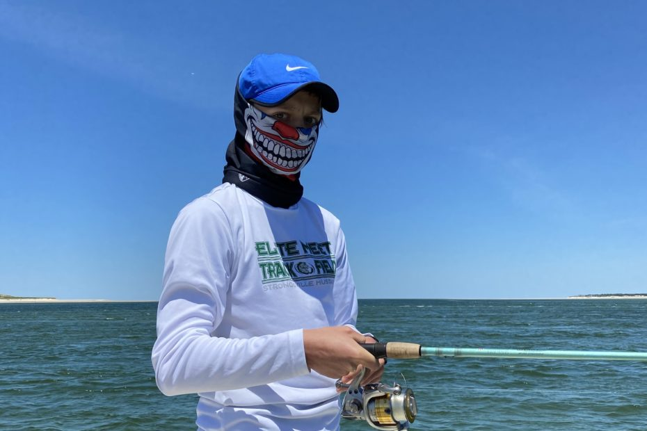 Fishing with masks and Buffs